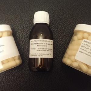 Kit antiparasitaire  dr Hulda Clark / Brou vert de noix noire / Absinthe Clou de girofle